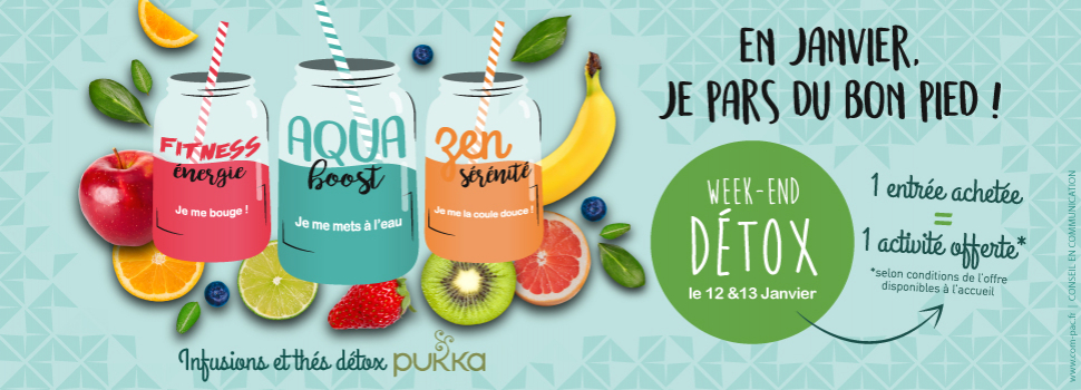 WEEK-END DETOX 12 & 13 JANVIER